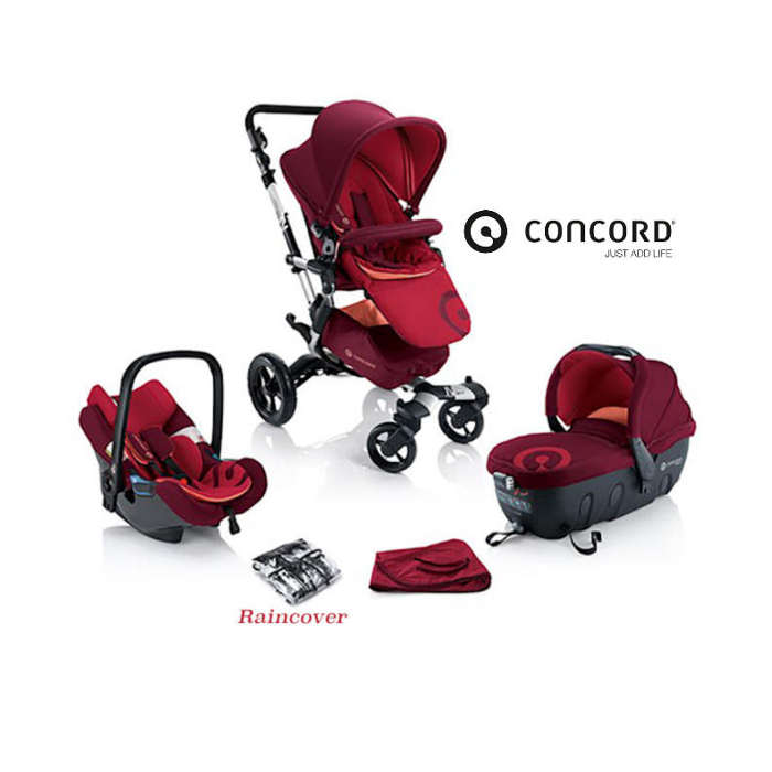 Concord Neo Travel Set - Lava Red