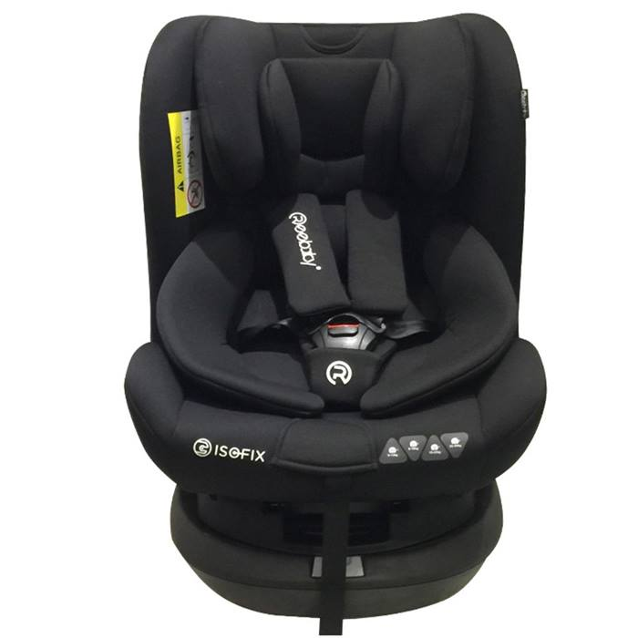 Reebaby Swan C-Sips 360 Spin Group 0+123 Isofix Car Seat (Black)