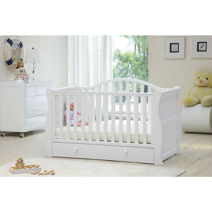 Babylo Sleigh Cot Bed