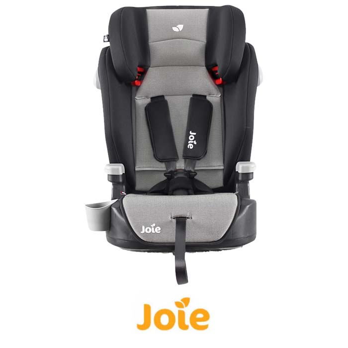 Joie Elevate Group 123 High Back Booster Car Seat - Slate