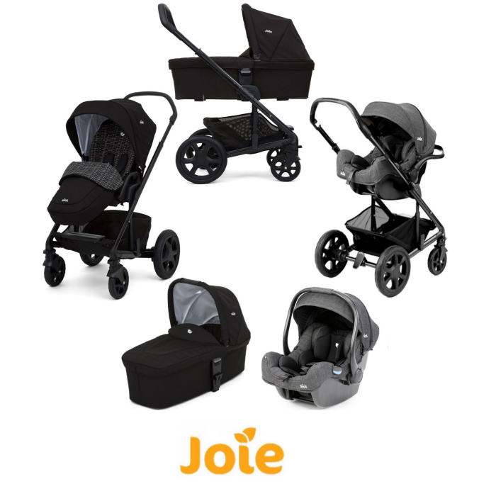 Joie Chrome DLX iGEmm Travel System