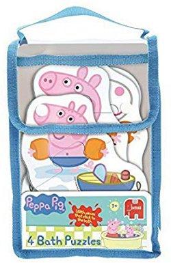Jumbo Peppa Pig bath jigsaw 250