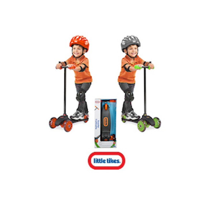 Little Tikes Lean To Turn Scooter  - CIRCULAR