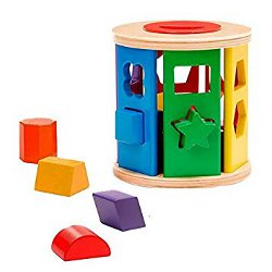 Melissa and Doug shape sorter 250
