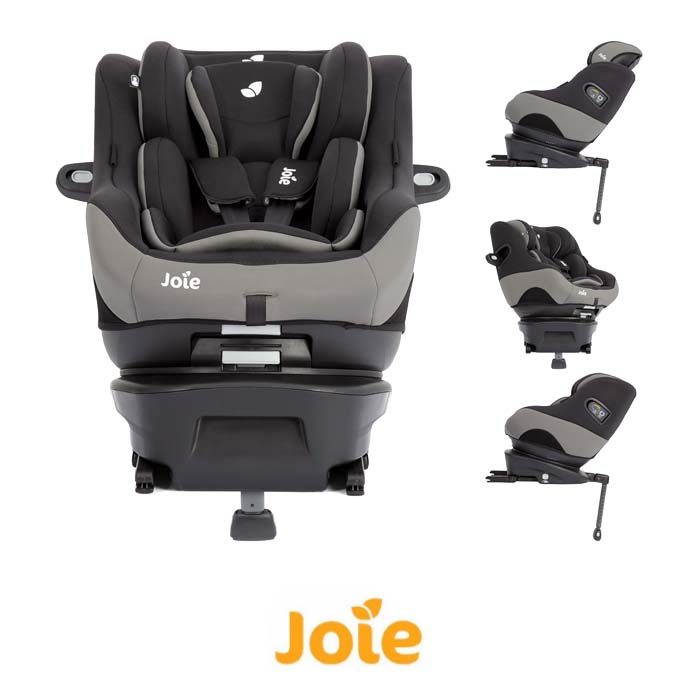 Joie Spin Safe Group 01 ISOFIX Car Seat Black Pepper