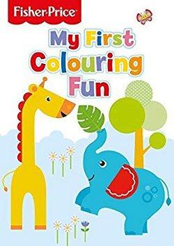My first fun colouring book 250