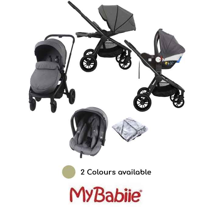 My Babiie MB400 I-Size Travel System Billie Faiers Signature Range