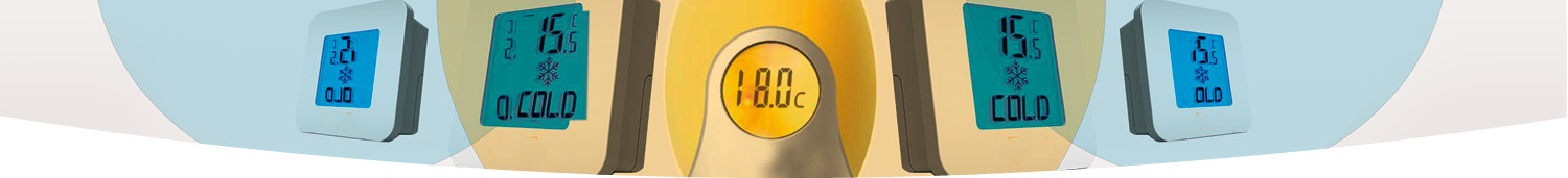 Room thermometers
