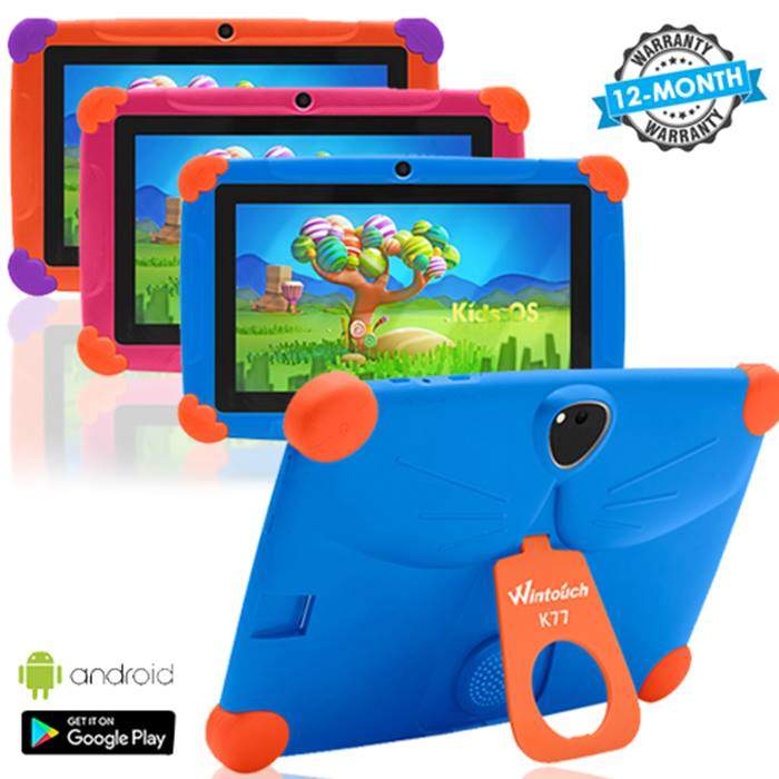 7-Inch Interactive Kids Android Tablet With Wi-Fi - 3 Colours