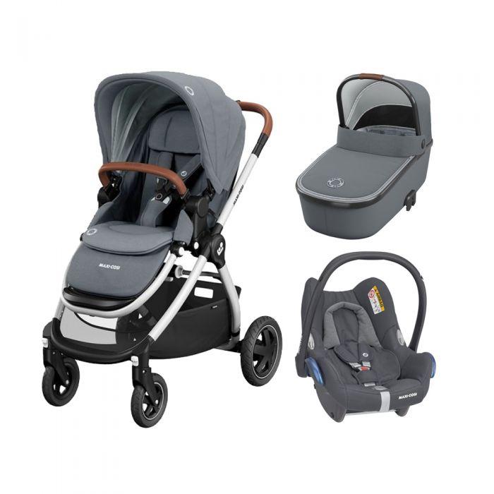 Maxi Cosi Adorra Pushchair 3in1 Bundle Grey