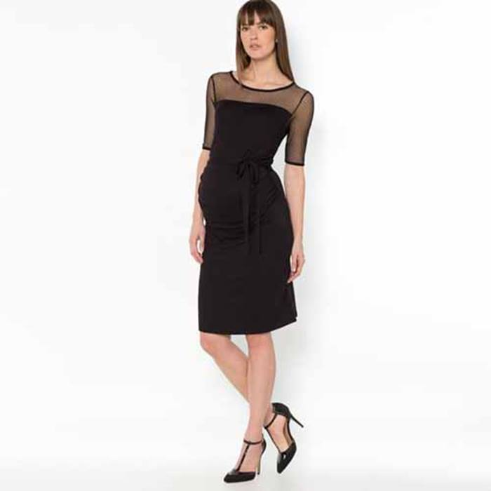 laredoute-spotted-dress-black