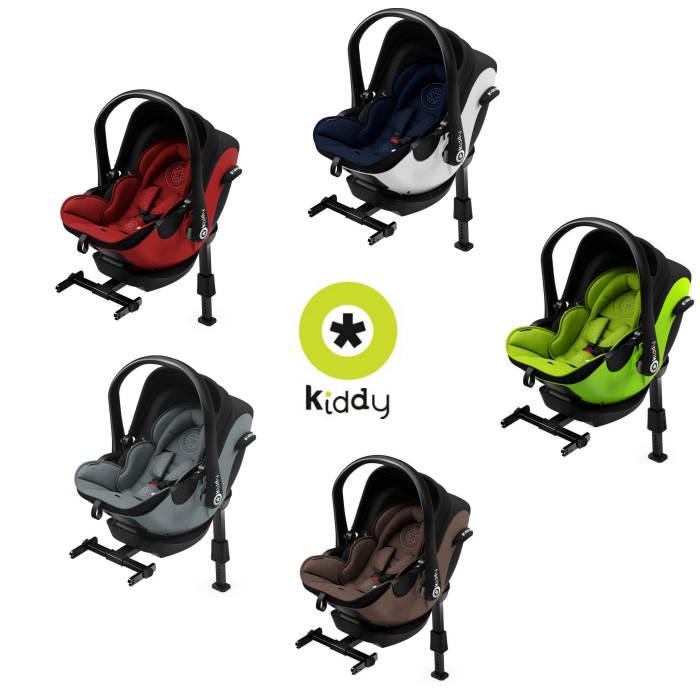 Kiddy Evoluna i-Size Car Seat With Isofix Base