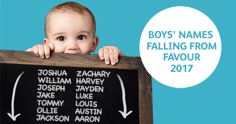 baby names boys down