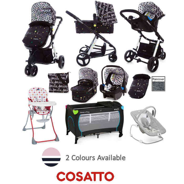 oie - Cosatto Giggle 2 Everything You Need Travel System Bundle