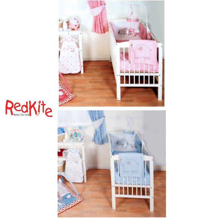 Red Kite Hello Ernest Deluxe 4 Piece Cosi Cot  Cot Bed Bedding Set