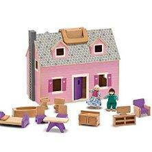 Fold and go dolls house