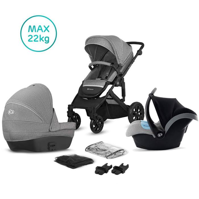 Kinderkraft Prime Lite 3-in-1 Travel System