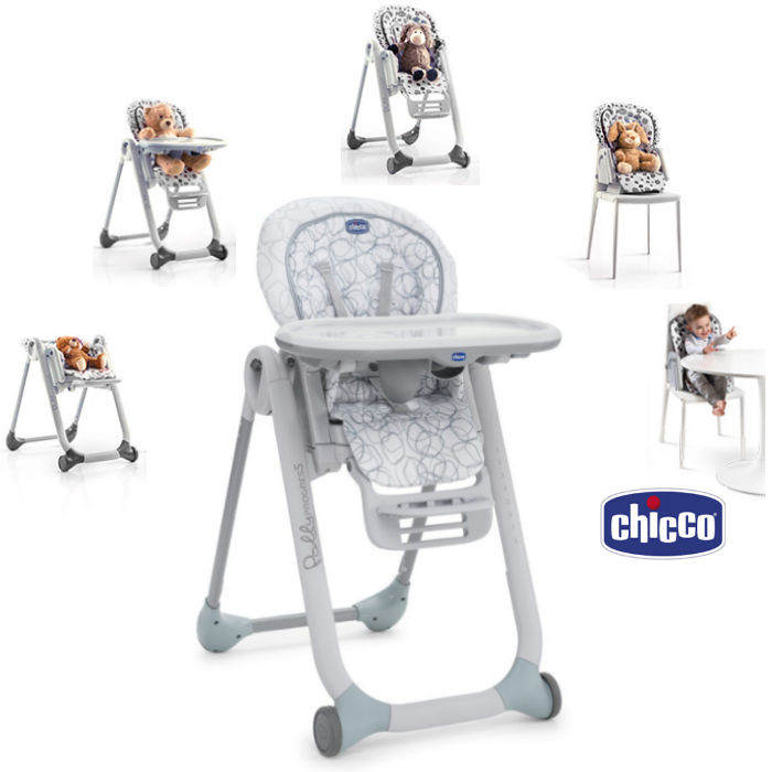 Chicco Polly Progres5 3 in 1 Highchair  Sage