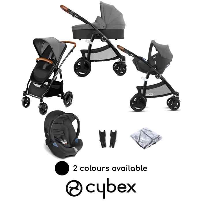 Cybex CBX Leotie Lux Shima Travel System with Carrycot