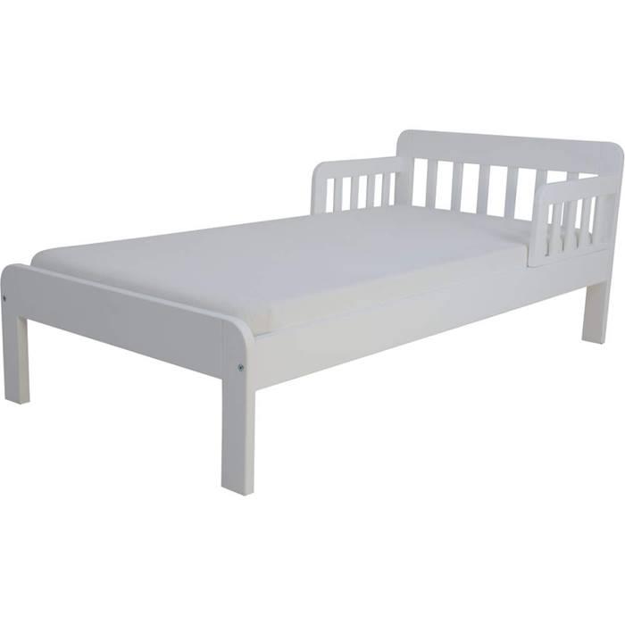 East Coast Dakota Junior Bed & Mattress (White)