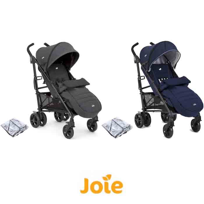 Joie Brisk LX Stroller Pushchair With Footmuff