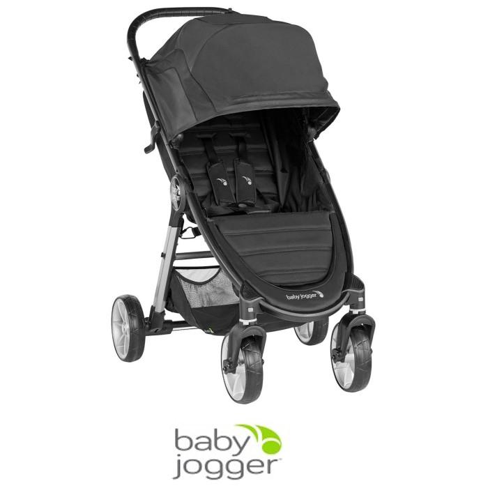Baby Jogger City Mini 2 (4 Wheel) Single Pushchair Stroller - Jet Black