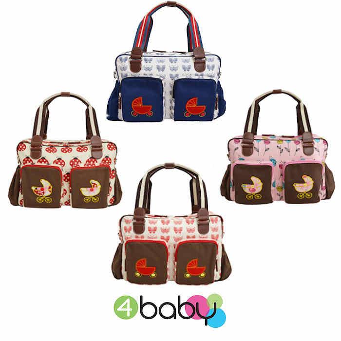 4baby Designer Fashion Baby Changing Bag