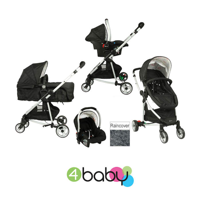 4baby Zoop 2 In 1 Travel System