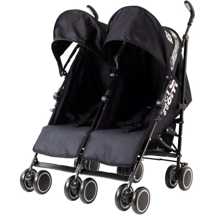 Zeta CiTi Twin Stroller
