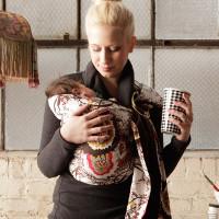 Rocking Baby Reversible sling