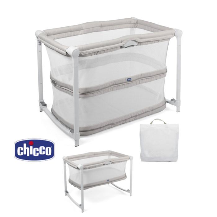 Chicco Zip  Go Travel Crib  Glacial