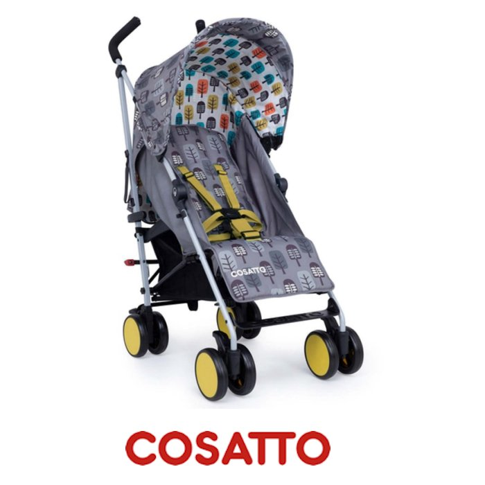 Cosatto Hula Lightweight Stroller - Grey Trees