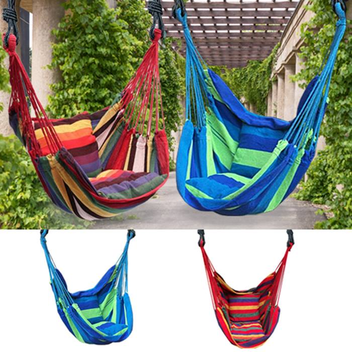 Hanging Rope Swing Chair - 2 Colours
