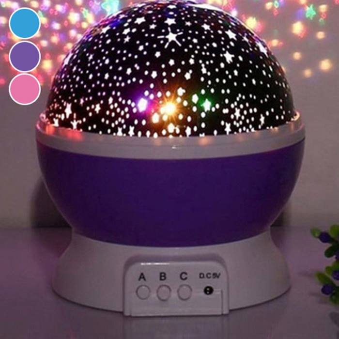 Night Light Star Projector - 3 Colours