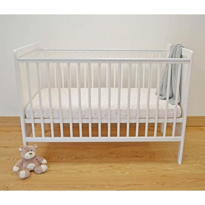 kiddies-kingdom-kareena-cot-120x60-white-including-foam-mattress