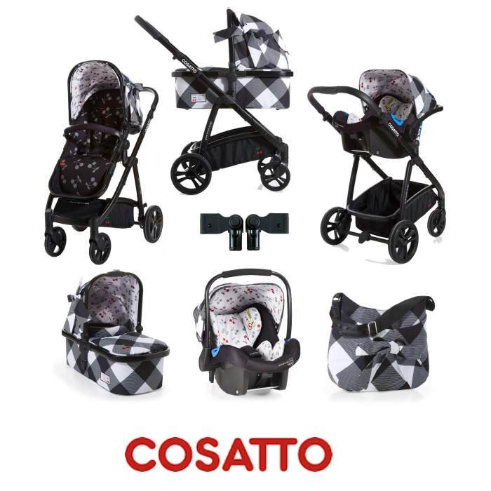 Cosatto Wow 3 in 1 Combi Travel System With Accessories - Mademoiselle