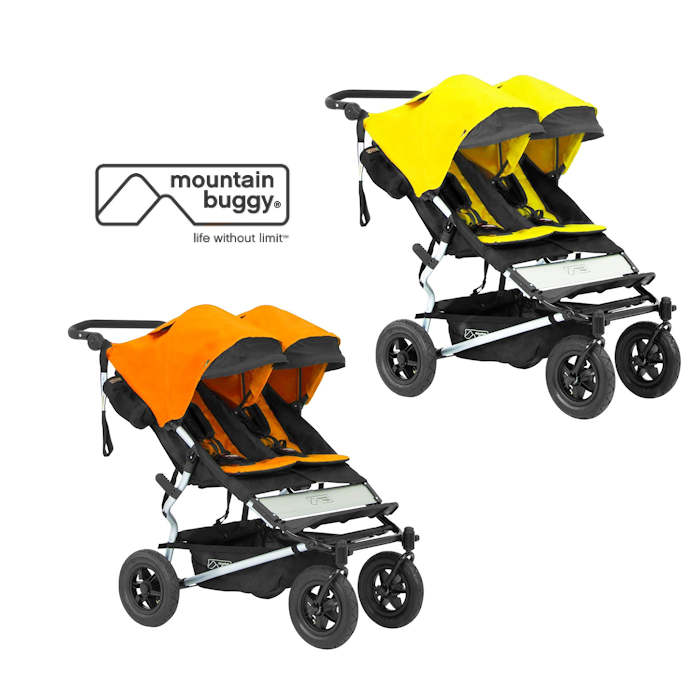 Mountain Buggy Duet With Family Pack