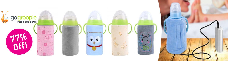Milk bottle warmer