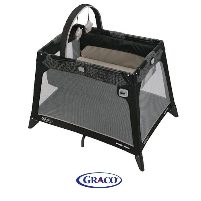Graco Nimble Nook Travel Cot - Pierce