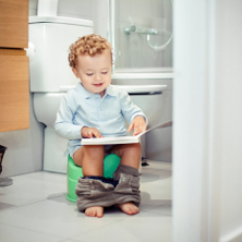 Potty training affecting sleep 222