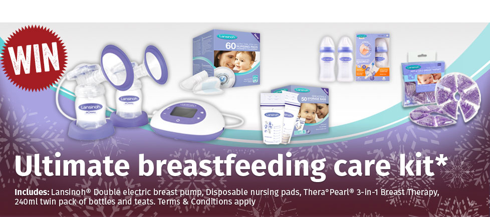 Ultimate breastfeeding care kit