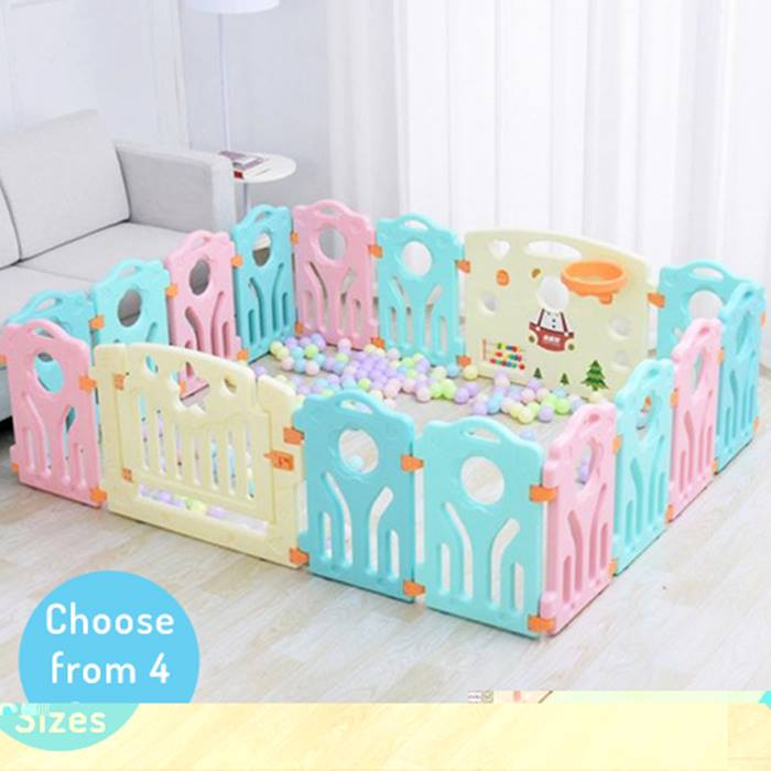 Play It Safe Kids Interactive Play Pen - 4 Sizes