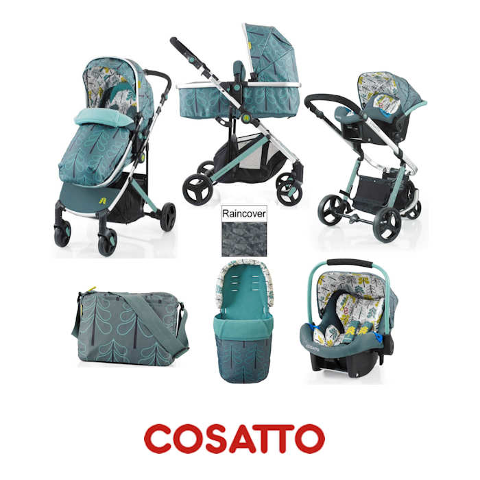 Cosatto Wish 2 in 1 Travel System - Fjord