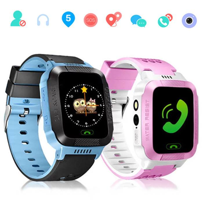 Child Safety GPS Tracker Smart Watch - 2 Colours