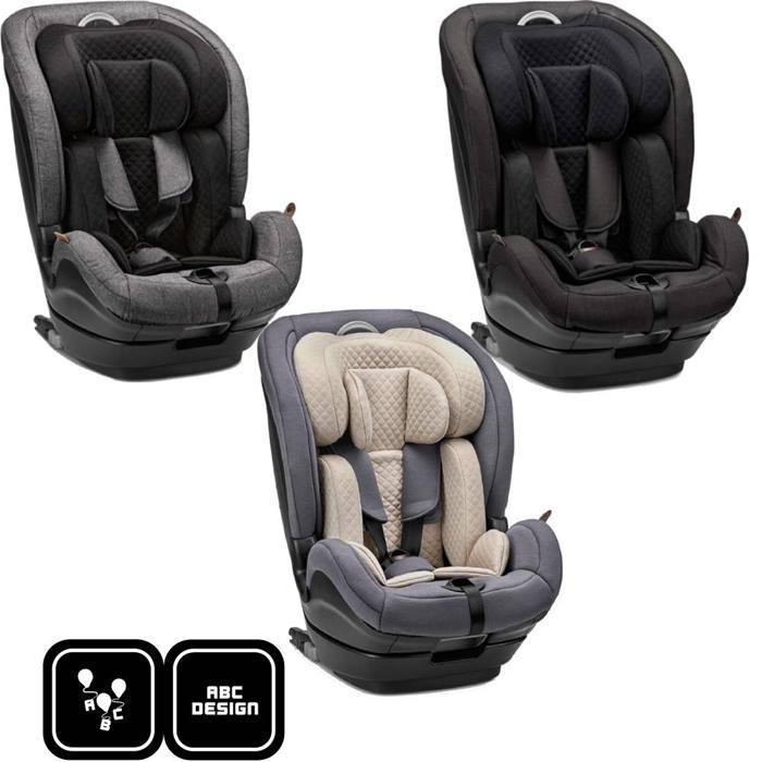 ABC Design Aspen Group 1/2/3 i-Size Car Seat-3 Colours