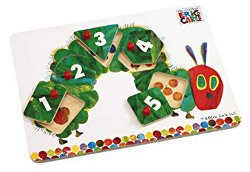 The Very Hungry Caterpillar Wooden Peg Puzzle 250