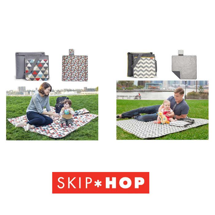 Skip Hop Central Park 2 in 1 Outdoor Blanket  Cooler Bag