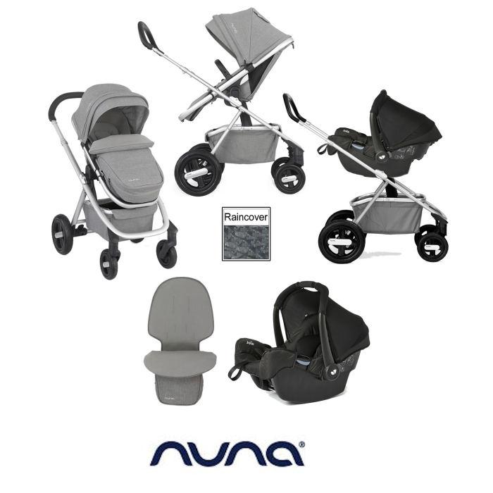 Nuna Ivvi Savi Travel System - Frost