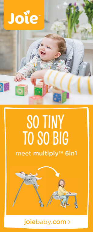 Joie - So tiny to so big - meet Multiply 6in1
