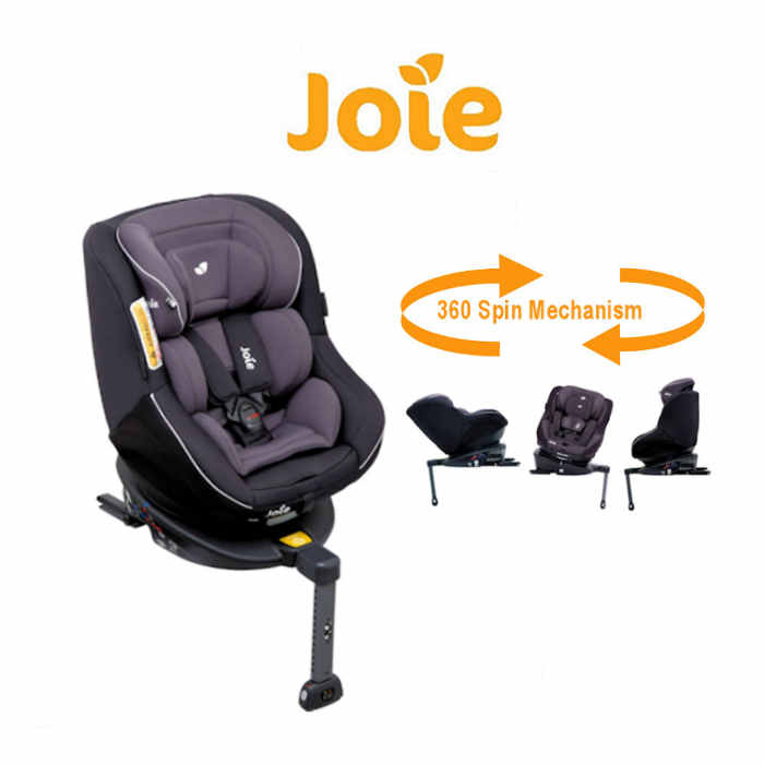SECRET OFFER Joie Spin 360 Group 01 Isofix Car Seat